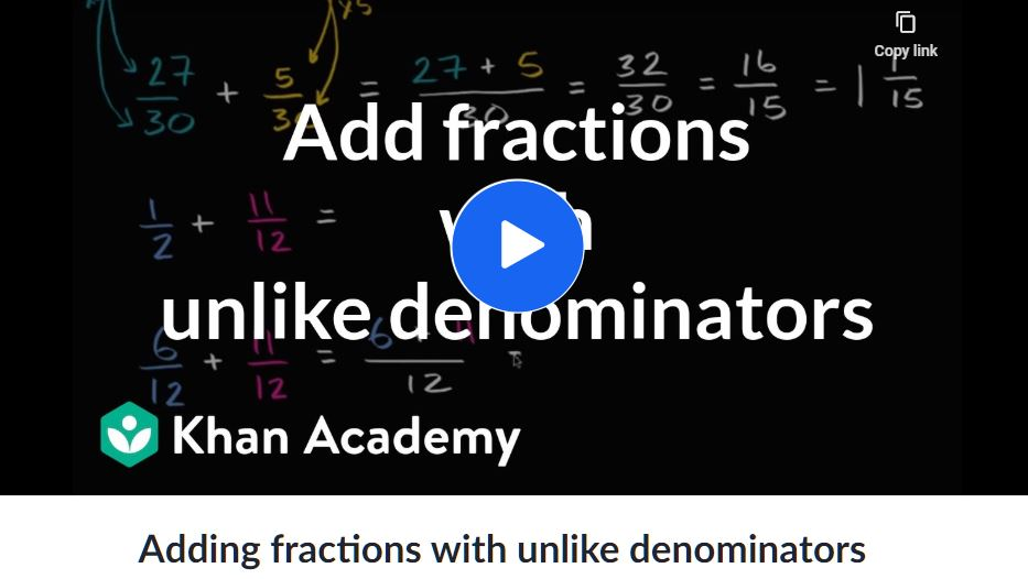 khan fractions