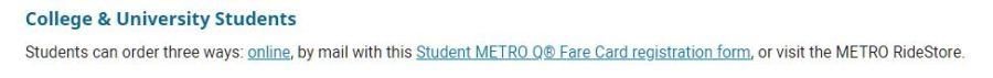 metro discount